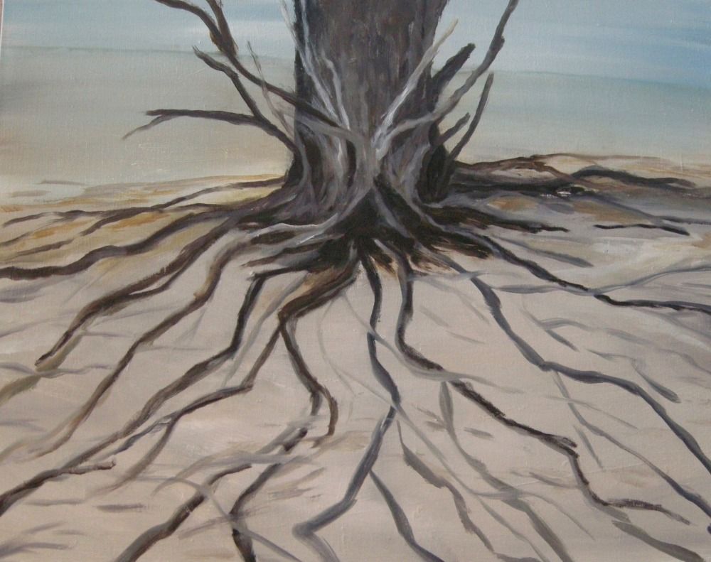 "Black Willow, 24"" x 30"", Oil on Canvas, 2013"